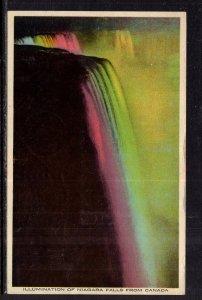 Illumination of Niagara Falls,Niagara Falls,Ontario,Canada BIN
