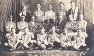 RP: Les Nationals Soccer League Champions OTTAWA Ontario Canada 1905 Chevrier PC