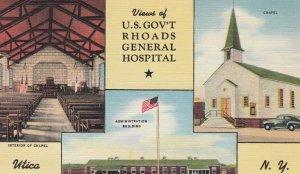 UTICA , New York , 1930-40s ; U.S. Gov't Rhoads General Hospital