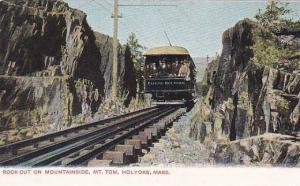 Rock Cut On Mountainside, Mt. Tom, Holyoke, Massachusetts, 1900-1910s