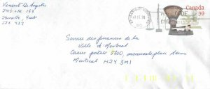 Entier Postal Stationery Canada Post Balance Dayton St Jean sur Richelieu