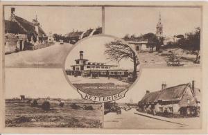 KETTERING, Northamptonshire UK - 4 views of TOWN - 1940s era