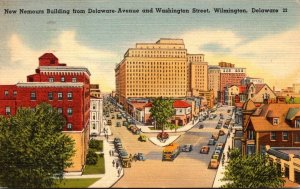 DElaware Wilmington Nemours Building From Delaware Avenue and Washington Stre...