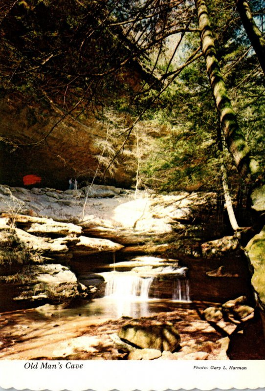 Ohio Hocking Hills State Park Old Man's Cave