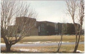 The Arts And Culture Centre, St John's, Newfoundland, Vintage Chrome Postcard