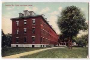 Parker hall, Bates College, Lewiston ME