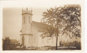 RP; COURTRIGHT, Ontario, Canada, 1900-10s ; Baptist Church