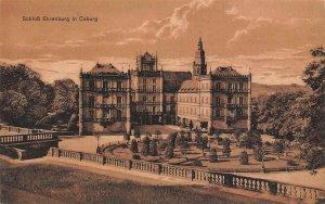 Schloss Ehrenburg in Coburg Castle Postcard