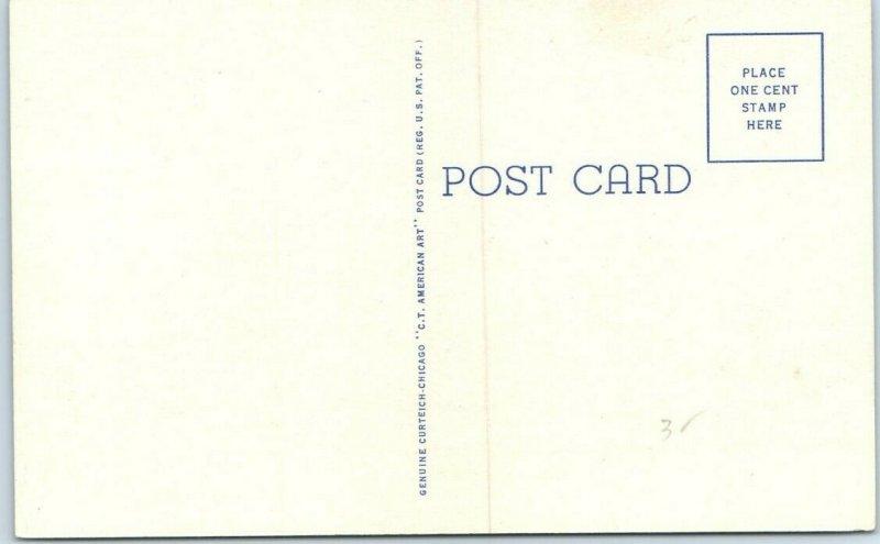 Miami, Oklahoma Postcard Eagle-Pincher Central Mill, Lead and Zinc Mining Dist
