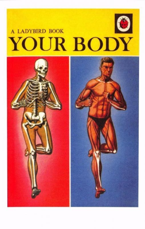Postcard Your Body (1967) Series 536 Nature Ladybird Book Cover