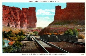 Utah Price River Canon Castle Gate