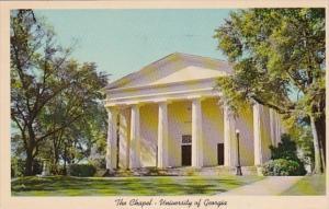 Georgia Athens The Chapel University Of Georgia 1963