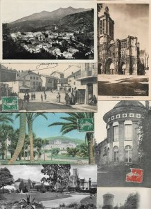 France Vienne Grenoble Cantel Bellegarde And More Postcard Lot of 21 01.04