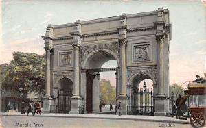 London United Kingdom, Great Britain, England Marble Arch London Marble Arch