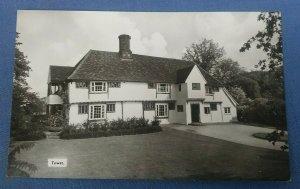 Vintage Real Photo Postcard  Tewes Little Sampford Essex   E1B