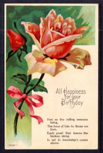 All Happiness For Your Birthday,Roses