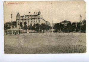 138282 Spain MADRID Ritz HOTEL Vintage postcard