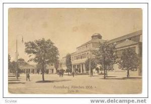 Halle III, Ausstellung Munchen, Germany, 1908