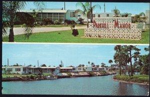 FL PUNTA GORDA Parkhill Manor Mobile Home Park Hwy 41/State Rd 765-S 1950s-1970s