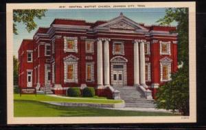 Tennessee colour PC Central Baptist Church, Johnson City, unused