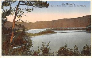 United Kingdom, Great Britain, England St Michael's Lake of Seven Cities  St ...
