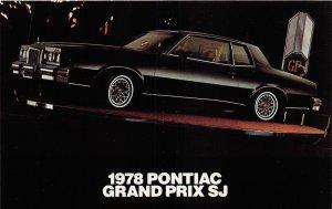 H47/ Automobile Car Postcard 1978 Pontiac Grand Prix SJ Advertisement 34