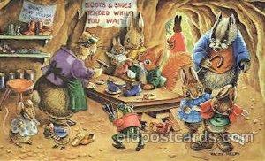 Artist Racey Helps, The Medici Society Ltd. London, Fantasy, Postcard Post Ca...