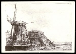 The Windmill, Rijksmuseum - Amsterdam