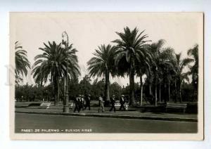 192422 ARGENTINA BUENOS AIRES Paseo de Palermo Vintage photo