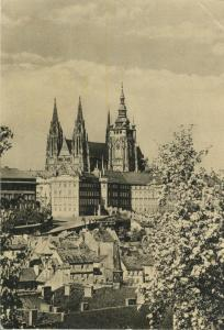 Czech Republic, Prague, Praha, Chram sv. Vita used Postcard