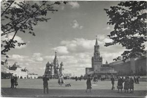 Russia - Moscow the red square 1962 01.27