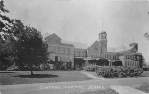 Mt Pleasant Michigan~Central Normal School~Note from Student~1925 RPPC