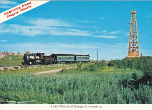 Canada Alberta Calgary 1905 Standard Gauge Locomotive Heritage Park