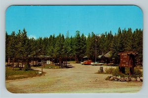 Sheridan WY- Wyoming, Arrowhead Resort, Big Horn Mt, Advertising Chrome Postcard