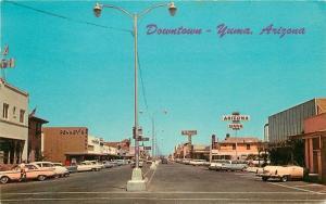 Autos Downtown Main 1966 Yuma Arizona Teich Department Store Penney's 1989