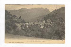 Le Chatelard en Bauges, France, 1900-1910s