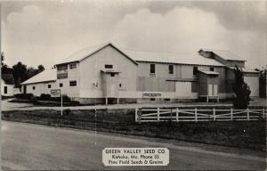 Kahoka Missouri~Green Valley Fine Field Seed & Grains Co~Ranch Fence 1940s B&W