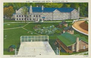 Mountain Lake Hotel Mountain Lake Virginia VA Linen
