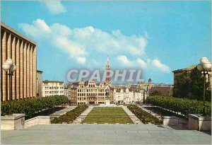 Postcard Modern Brussels Mount Arts