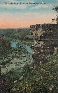 EUREKA SPRINGS, Arkansas, 1900-1910s; Signal Rock, King's River