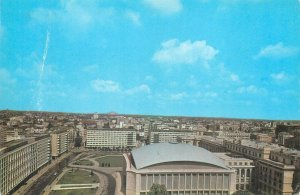 Postcard Romania RPR Bucharest palace square