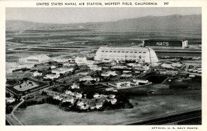 CA - Moffett Field. US Naval Air Station