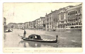 RP, Canal Grande e Palazzo Ca' D' Oro, Venezia, Italy, 00-10s