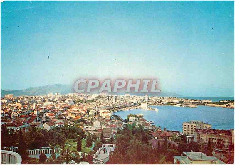 Postcard Modern Split Panoramic View