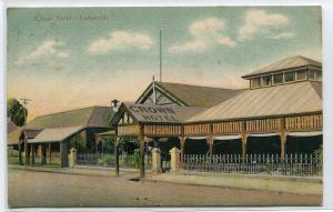 Crown Hotel Ladysmith KwaZulu Natal South Africa 1908 postcard