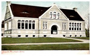 Maine  Augusta , Lithgow Library