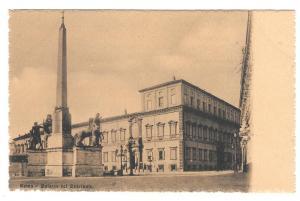 Italy Roma Palazzo Quirinale Palace Vtg Cordari Postcard