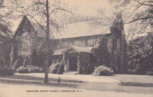 RIDGEWOOD, New Jersey , 00-10s ; Exterior, Emmanuel Baptist Church