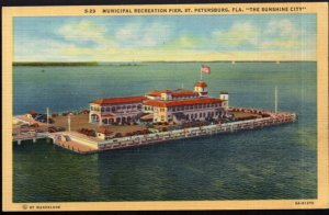 Florida ST. PETERSBURG Municipal Recreation Pier - LINEN
