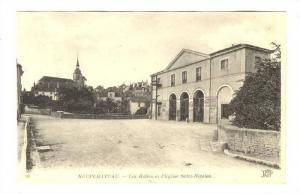 Les Halles Et l'Eglise Saint-Nicolas, Neufchateau (Vosges), France, 1900-1910s